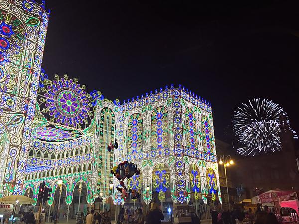 Bari-fireworks-for-Festa-Di-San-Nicola