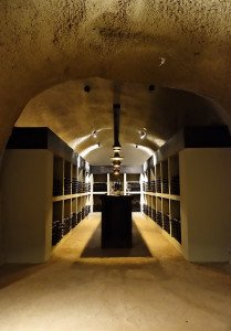 Merus' beautiful wine cave