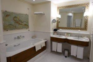 Big Marble Bathroom at Belmond Hotel Caruso