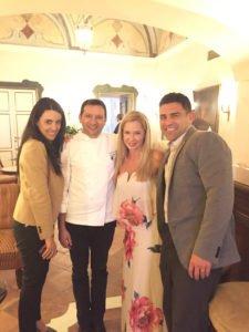 Chef Mimmo and Iolanda from Belmond Hotel Caruso