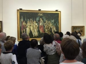 Botticelli's Primavera at Ufizzi