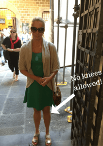 Florence cathedral dress code