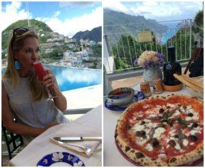Rossini and Pizza at Belmond Hotel Caruso