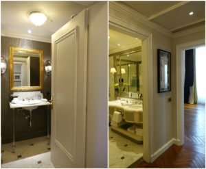 St. Regis Florence Suite Bathrooms