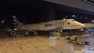 British Airways Queen of the Sky