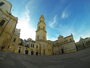 Piazza del Duomo Lecce Puglia