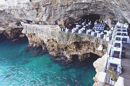 Polignano a Mare Ristorante Grotta Palazzese