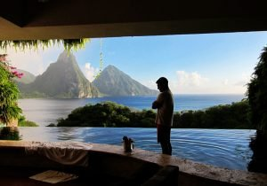 Jade Mountain St. Lucia Moon Sanctuary