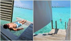 Hammock and Sea Access Six Senses Laamu Maldives