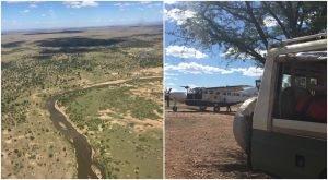 Lamai Serengeti bush plane and vehicle
