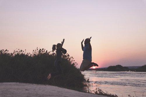 Zambia Zambezi sunset